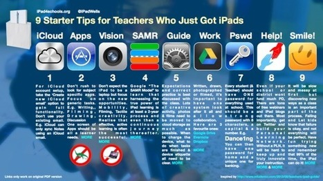 9 Tips For Teachers Who Just Got iPads - Edudemic | ePub und iBook | Scoop.it