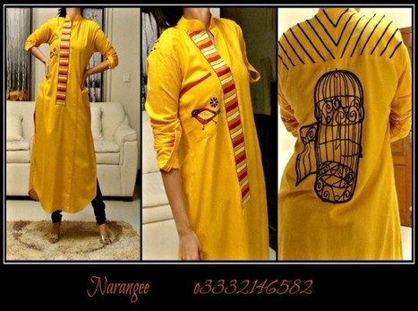 Narangee Semi-Formal Wear 2013 Collection | Pakistani dresses | Scoop.it