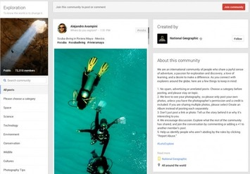 10 Reasons to Use Google+ Communities: #1 This blog post has a scuba picture! :/ | The Business of Scuba Diving | Scoop.it