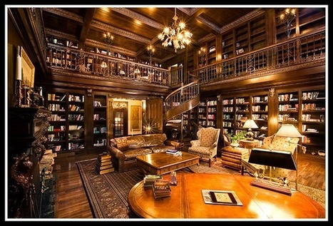 Home Libraries to Drool Over | All Things Bookish | Scoop.it