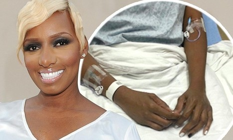 NeNe Leakes tweets photo from her hospital bed following illness   bed   Scoop.it
