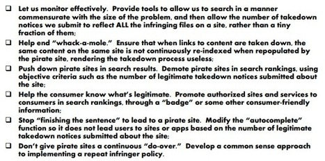 """RIAA Wants Google to End Piracy """"Whack-A-Mole"""" 