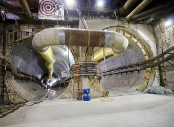 Tunnel Team Tackles Challenges | Constructor Magazine | ground treatment in TBM tunnelling | Scoop.it