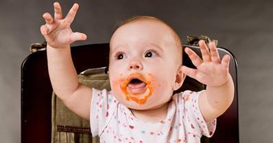 The View from Up Here: Babies Learn Faster in High Chairs   Developmental   Scoop.it