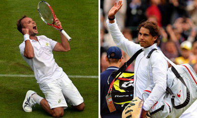 Rafael Nadal knocked out of Wimbledon by Belgian Steve Darcis | company | Scoop.it