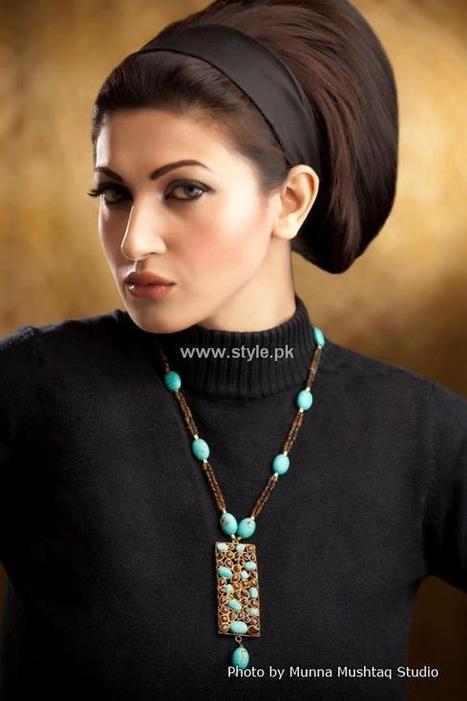 Maliha's Jewellery Collection 2013 for Ladies - Pakistan Fashion   Costume Jewellery   Scoop.it