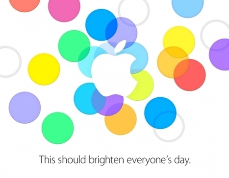 Apple To Host Special Event Sept. 10 With Invite Hinting At Colorful New iPhones | E-Mailing Social Media | Scoop.it
