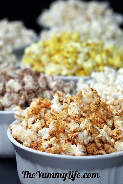 10 #Healthy Microwave Popcorn #Recipes | Popcorn | Scoop.it
