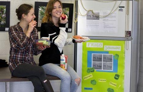 «Le Fridge»: le frigo de la faim du monde dans Rosemont | Alternatives | Scoop.it