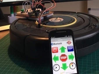 Controlling a Roomba Robot with Arduino and Android device | Raspberry Pi | Scoop.it