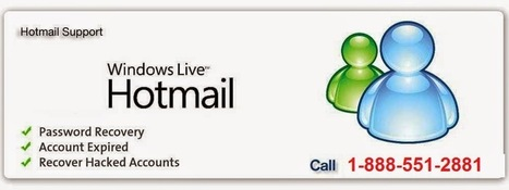 Hotmail Password Recovery -1-888-551-2881: Get Tech support for Hotmail Accounts immediately with Third party technicians 1-888-551-2881   Hotmail Password Recovery   Scoop.it