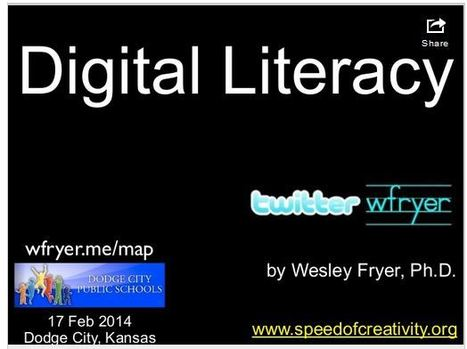 Moving at the Speed of Creativity | Digital Literacy (for iPad wielding learners in Dodge City, Kansas) | iPads in Education | Scoop.it