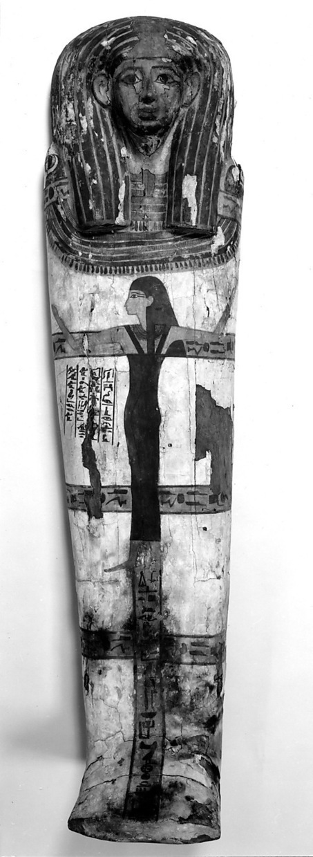 Three Dimensions of the Ancient Egypt Mourning Rite in a Rishi Coffin. | Egyptology | Scoop.it