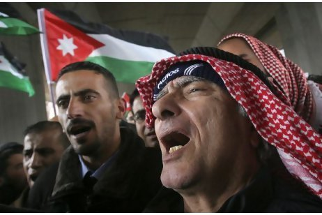 Jordanian protest group sets up camp in Amman | Coveting Freedom | Scoop.it