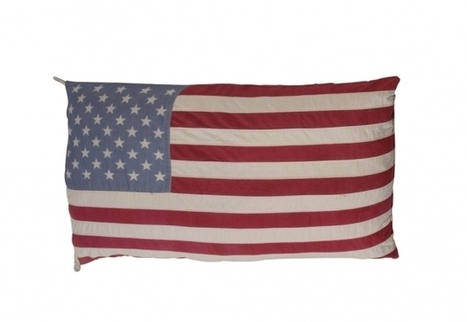 Flag Cushion Small - Stars & Stripes   Timothy Oulton   3D Product Design   Scoop.it