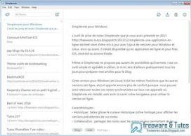 Simplenote : l'outil de prise de notes maintenant disponible pour Windows | François MAGNAN  Formateur Consultant | Scoop.it