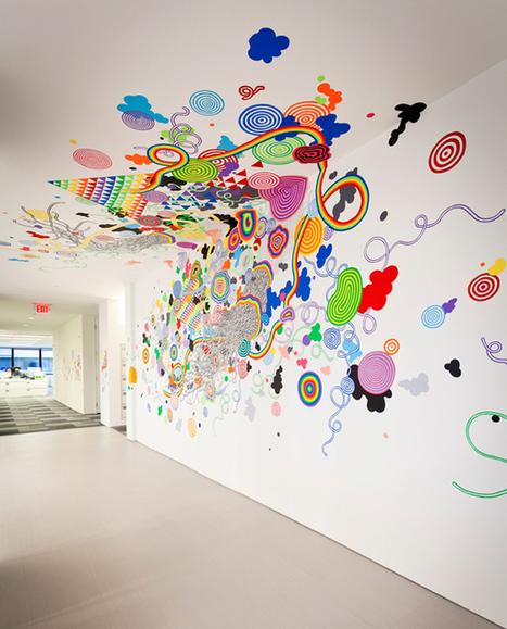 Mural in DC - Jen Stark | Culture and Fun - Art | Scoop.it