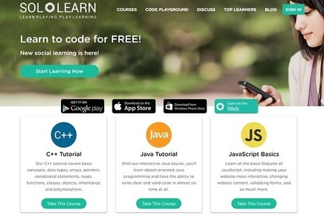 SoloLearn – UKEdChat.com | Lyseo.org (ICT in High School) | Scoop.it