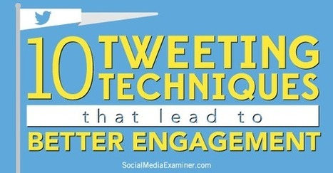 10 Twitter Tactics to Increase Your Engagement | Public Relations & Social Media Insight | Scoop.it