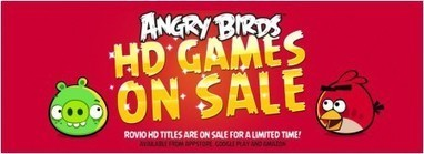 All Rovio HD games on sale this weekend for 99-cents   Anything Mobile   Scoop.it