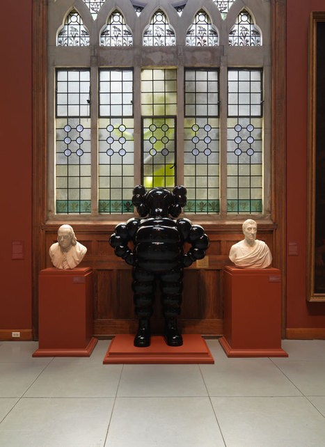Pop-Art Meets 19th-century Fine Art In KAWS' Latest Solo Exhibition ...   Art and Craft   Scoop.it