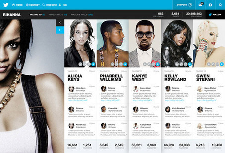 New design concept for Twitter: a better experience? | Web design | Creative Bloq | EXTRASIDE | Scoop.it