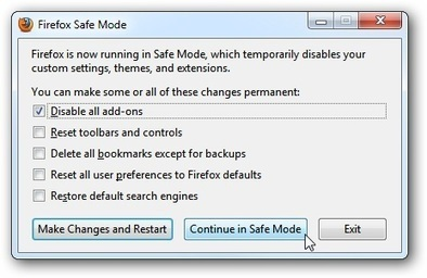 Firefox How to Start in Safe Mode | Time to Learn | Scoop.it