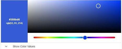#FFFFFF : un clic pour trouver les couleurs | web2Partner | Scoop.it