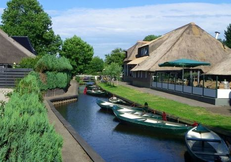 Olanda, un paese senza strade: Giethoorn | Travel | Scoop.it