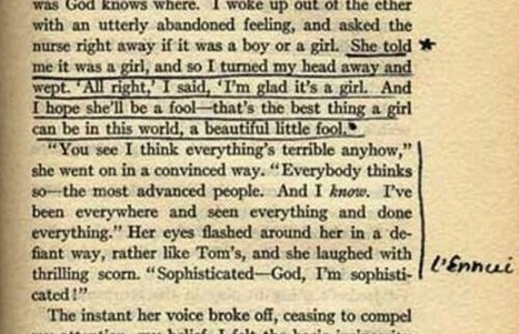 Les commentaires de Silvia Plath à la lecture de Gatsby Le Magnifique | Les livres - actualités et critiques | Scoop.it