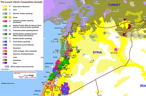The one map that shows why Syria is so complicated | political geography | Scoop.it
