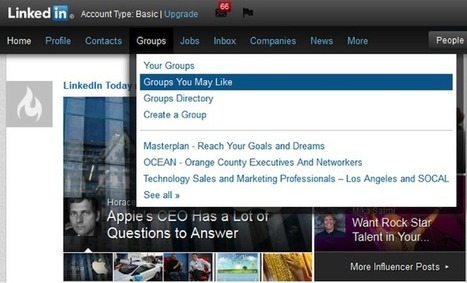tips and advice How LinkedIn can help get your website selling   7minutebreak   Scoop.it