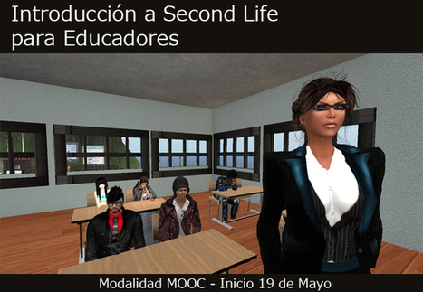 Introduction to Second Life for Educators - a Cour... - Second Life | Virtual University: Education in Virtual Worlds | Scoop.it