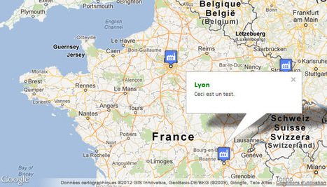 Créer une carte Google Maps personnalisée | Time to Learn | Scoop.it