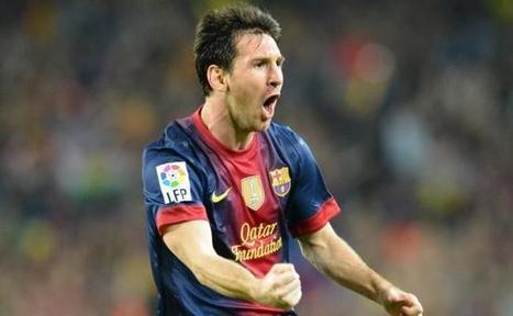 Messi retrouve aussi le Soulier d'or - France Football | Yannick | Scoop.it