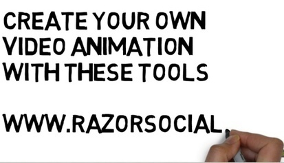 Animated Videos: 5 Tools to Create Animation Videos in a Flash | Lean Content and Visual Narrative | Scoop.it