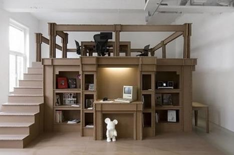 Intérieur en carton | Deco intérieur | Scoop.it