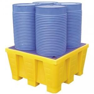 Acheter un bac de rétention pour le stockage de ses produits polluants | Hygiène et Sécurité au Travail | Scoop.it