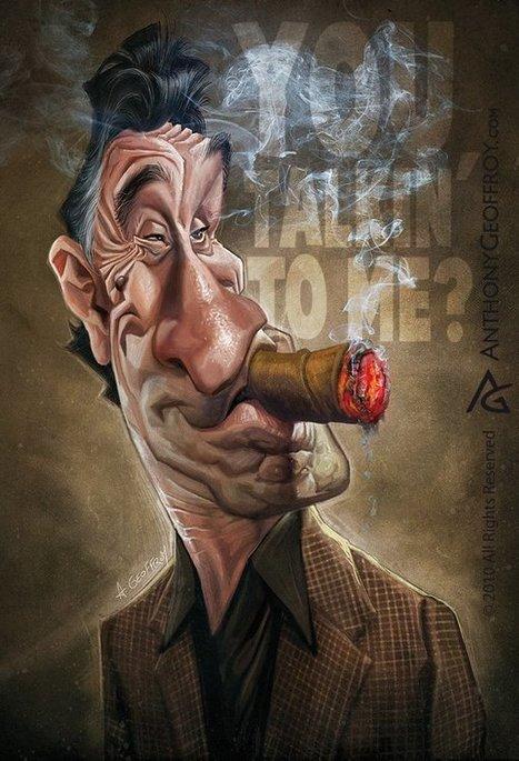 Le monde du cinéma et des séries-télé caricaturé par Anthony ...   divertissement   Scoop.it
