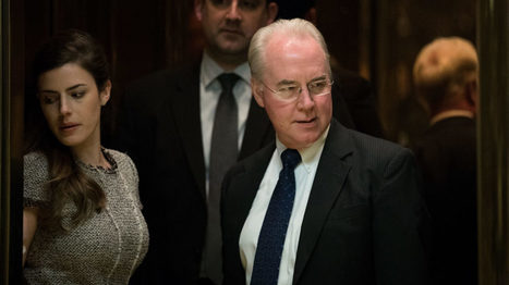 What Tom Price, HHS pick, believes about medicine | Health IT, Precision Medicine, Digital Health | Scoop.it