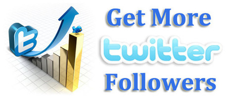 50 Innovative Ways to Get More Twitter Followers | Inspiring Social Media | Scoop.it