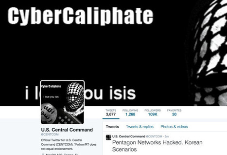 It Doesn't Really Matter if ISIS Sympathizers Hacked Central Command's Twitter | WIRED | Cyber Threats | Scoop.it