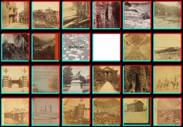 NY Public Library makes archive of 3D stereographs available as animated GIFs - Geek | Machinimania | Scoop.it