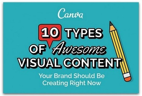 Infographic: 10 types of visual content you should be creating | Online World | Scoop.it