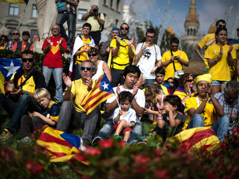 New Generation Of Catalonian Separatists Looks To Future, Not Past | APHuG Political | Scoop.it