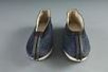 1895 - 1900 Chinese American Man's Slippers | National Museum of American History | Antiques & Vintage Collectibles | Scoop.it