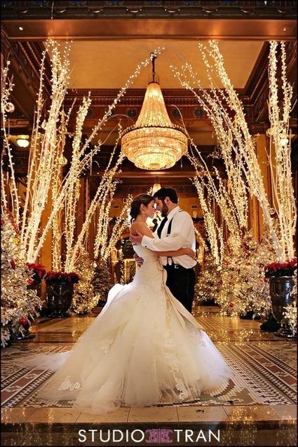 Incorporating Christmas Lights Into Your Wedding Decor | Weddings | Scoop.it