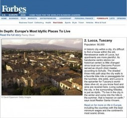 Per Forbes Magazine, Lucca Tuscany is One of the Most Idyllic Placess in Europe : Tuscany Travel Blog | Toscana Mia (My Tuscany) | Scoop.it