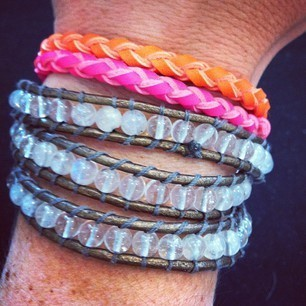 Product of the Day | Vinyl Neon Bracelets, Milly & Earl, Williamsburg | Spotlight | New York Boutiques | Scoop.it