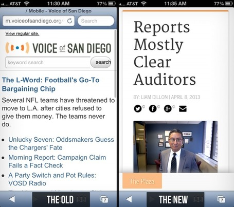 Voice Of San Diego Switches To WordPress — And Adds A Bunch Of Other Cool Features - 10,000 Words | Multimedia Journalism | Scoop.it